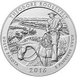 Theodore Roosevelt National Park 5-oz. Silver Coin to Debut in October