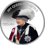 Falkland Islands: The Queen's Birthday Celebrated on New Color Coin
