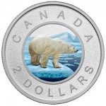 "Canada Features Polar Bear on Sixth and Final Issue in ""Big Coin"" Series"