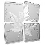 Canada Issues Square Coin Quartet Featuring National Symbol