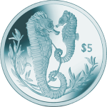 British Virgin Islands: Elegant and Graceful Seahorse Features on Latest Titanium Coin