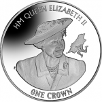 Isle of Man: Silver Coin Celebrates the 90th Birthday of HM Queen Elizabeth II