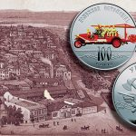 Ukraine: Centennial of Kiev's First Motorized Fire Engine Celebrated on Latest Collector Coin