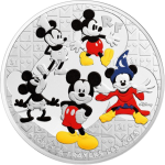 "France: The World's Most Famous Mouse ""Through the Ages"" on New Gold and Silver Euro Coins"