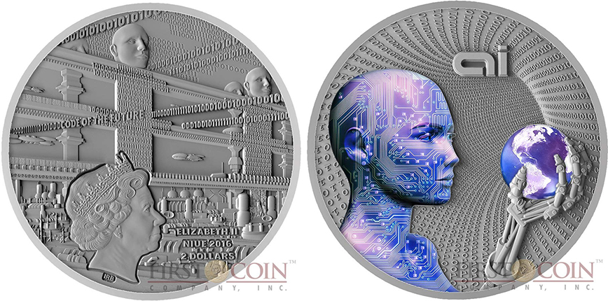 niue-island-code-of-the-future-series-artificial-intelligence-2-silver-coin-2016-fluorescent-uv-effect-antique-finish-2-oz-obverse-900x900