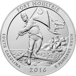 U.S. Mint Posts Images of Fort Moultrie (Fort Sumter) 5-oz. Uncirculated Silver Coin
