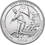 Fort Moultrie Quarter Launched with Musket Fire