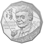 Australia: Cricket Legend Ritchie Benaud Featured on New 50-Cent Coin