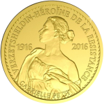 Belgium: War Heroine Gabrielle Petit Remembered on New Gold Coin