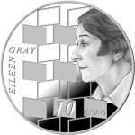 Ireland: Esteemed Artist Eileen Gray Features on Latest Europa Star Series Silver Coin