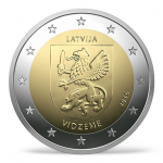 Latvia: New Commemorative €2 Coin Issued in Celebration of Independence Centennial