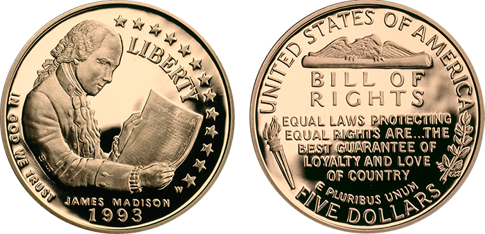1993-bill-of-rights-5-gold-21-6mm-o-r