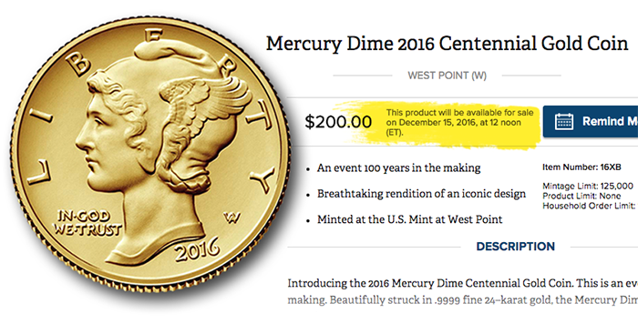 mercury-dime-centennial-gold-on-sale-dec-15