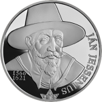 Slovakia: 450th Anniversary of the Birth of Noted 16th-Century Scientist Ján Jessenius Marked With New Silver Coin