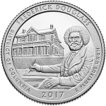 Frederick Douglass National Historic Site 3-coin quarter set available April 24