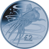 "South Georgia and South Sandwich Islands: The Colossal Squid Features on Latest Titanium ""Marine Life"" Coin"