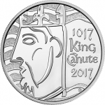United Kingdom: Millennial Anniversary of Coronation of King Canute Remembered with New Crown Coin