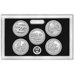 2017 ATB Quarters Silver Proof Set available at noon today
