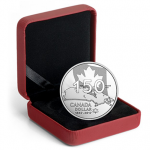 Canada: Popular Canadian silver dollar coin celebrates 150th anniversary of confederation