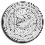 Australia: Commemorative coin marks 75th anniversary of sinking of the SS Vyner Brooke