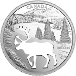 Canada: New Endangered Animal Cutout series features woodland caribou