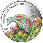 "Palau: Sixth coin issued in popular ""Red Sea Marine Life"" coin series"
