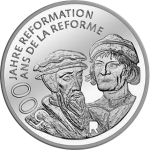 Switzerland: Historic Reformation anniversary remembered on new silver coin