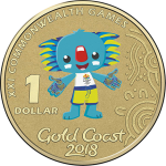 "Australia: Commonwealth Games mascot ""Borobi"" features on new dollar coin"