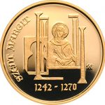 St. Margaret subject of Hungary's first gold coin of 2017