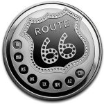 Collectors may get their kicks with Route 66 coins