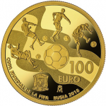 Spain: World Cup 2018 features on latest gold and silver collector coins