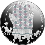 "Latvia: Enchanting ""Latvian Fairy Tales"" series features ""An Old Man's Mitten"" on new silver coin"
