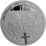 "New Zealand: World War I centenary series ""The Darkest Hour"" continues with gold and silver collector coins"
