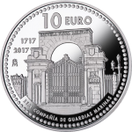 Spain: Tercentenary of the Royal Company of Midshipmen celebrated with new silver coin