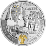 Canada: New silver coin honours the 100th anniversary of the Battle of Vimy Ridge