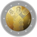 Estonia–Latvia–Lithuania unveil new joint-issue €2 coin celebrating Independence centenary anniversary
