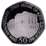 Isle of Man: 150th anniversary of first elections to Parliament on new commemorative coin