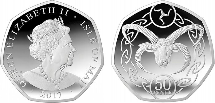 Image result for isle of man 50p 2017