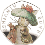 United Kingdom: Peter Rabbit & friendsmake another appearance on new coins for 2017