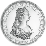 Austria: Empress Maria Theresa features on new celebratory silver coin