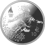 Estonia: Winter Olympics silver collector coin unveiled