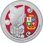 New Zealand: Rugby excellence features on newsilver coin forBritish and Irish Lions tour