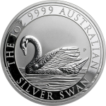 APMEX promoting its new CoinGrade+ feature with giveaway of MS-70 Silver Swan from the Perth Mint