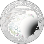 British Antarctic Territory: Climate change front and centre on new silver coin with hologram design