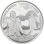 Finland: The tango travels North to its adopted home on new silver coins