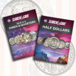 Whitman releases new Search & Save™ coin books on dimes, quarters, and half dollars