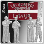 Latvia: Centenary of the Latgale Congress celebrated on new silver coin