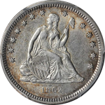 Affordable Liberty Seated quarters