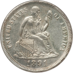 Affordable Liberty Seated dimes