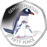 "Falkland Islands: Second ""penguin"" coin in popular series issued"